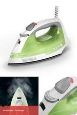 BLACK+DECKER Easy Steam Anti-Drip Compact Steam Iron, Green, IR02V