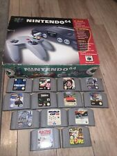Boxed Nintendo 64 Console With Inserts Paperwork With 13 Games Pal Uk