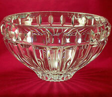 """Gorgeous MIKASA CRYSTAL """"Reflections"""" Pattern Display Candy Bowl EXCELLENT COND"""
