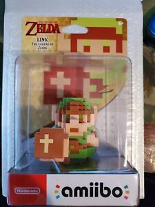 Amiibo 8-bit Link The Legend of Zelda Character Sealed