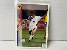 Mia Hamm 1994 Upper Deck Rookie Card #268 Soccer World Cup USA Clean