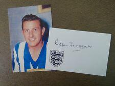 Redfern Froggatt Sheffield Wednesday - Signed card & Image