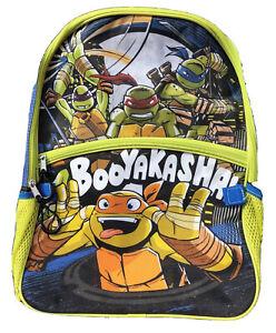 Nick Nickelodeon Kids Teenage Mutant Ninja Turtles TMNT Backpack