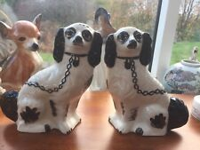 vintage pair wally dogs