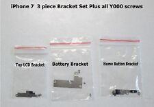 iPhone 7 Bracket set ( Battery Bracket - Top LCD Bracket - Home Button Bracket)