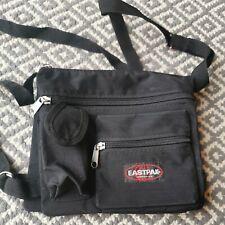 Eastpak Travel bag Messenger Black 20x18cm Small Useful #JB1