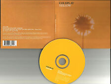COLDPLAY Yellow w/ 2 UNRELEASED TRX Europe Made DIGI CD single USA Seller 2002