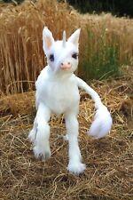 Einhorn Unicorn Art Doll Plüsch Plush Puppe Fabelwesen Moveable Beweglich