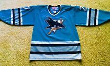 Rare Korolyuk San Jose Sharks Rookie Jersey - Vintage Throwback Hockey - Medium