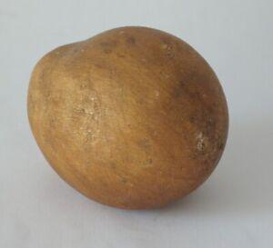Early antique Italian alabaster stone fruit vegetable potato.