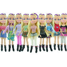 Random 1 Set Lady Dress Outfit Blouse + Trousers Casual Clothes For Bratz Doll