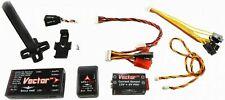Eagle Tree Vector V2 GPS Flight Controller + OSD w/ Deans Battery Connectors