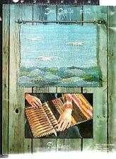 Flatloom Weaving Softcover Snell Judith 1976