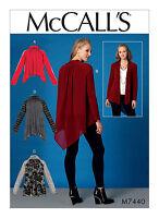 Butterick Sewing Pattern B6349 misses/'s pañuelo o recto Dobladillo vestidos