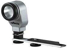 Reflecta RAVL 200 LED Battery Powered Video Light with Shoe Mount