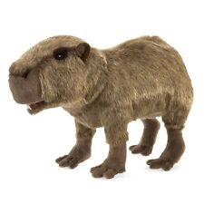 Capybara Rodent puppet with Movable Mouth & Forelegs, Folkmanis MPN 3098, 3 & Up