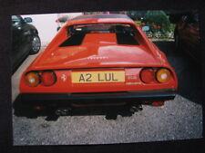 Photo Ferrari 308 quatrovavole with nice numberplate ( in Dutch )