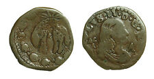pci2637) Regno di NAPOLI / NAPLES - Carlo II di Spagna (1665-1700) Tornese