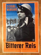 Bitterer Reis (Kinoplakat '50) - Silvana Mangano / Vittorio Gassman