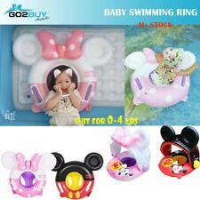 Baby Inflatable Mickey Mouse Float Raft Swimming Ring Toy Bed Gift