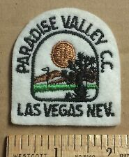 Paradise Valley Country Club Golf Course Resort Las Vegas Nevada NV Patch