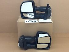 2015-2016 Ford F-150 manual Trailer Tow Side View Mirror Kit new OEM FL3Z17696AA
