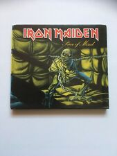 Iron Maiden Piece of Mind CD Remastered USA in cardboard case Sanctuary records