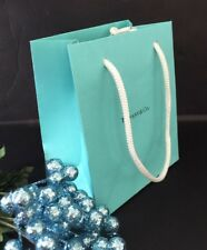 "Tiffany & Co. Blue Bag Paper Shopping Jewelry Gift Bag SZ S 6"" X 5"" X 3""  NEW!"