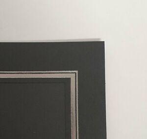 Kenro Slip-in Photo Mount Black Pack of 50
