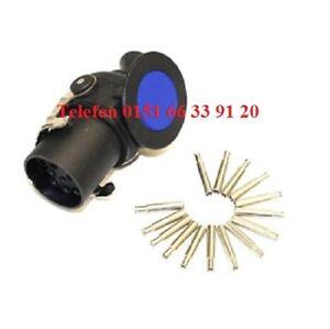 Stecker,15-polig,24V,ADR,Kontaktstift,Kunststoff,LKW,ISO 12098