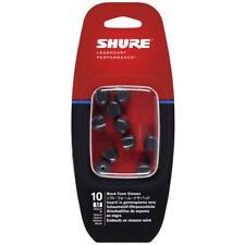 Shure Replacement Black Foam Sleeves Medium (Eabkf1-10M)