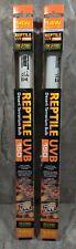 "New listing Exo Terra Reptile Uvb150 - 14 W 15"" Desert Terrarium Linear 2 Bulbs"