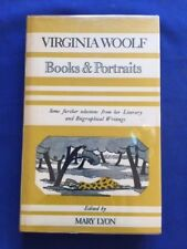BOOKS & PORTRAITS - FIRST BRITISH EDITION BY VIRGINIA WOOLF