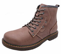 MENS COTSWOLD TRAVIS BROWN LEATHER DESERT HIKING WALKING ANKLE BOOTS UK 8-11