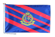 More details for royal military police flag with rope and toggle - various sizes