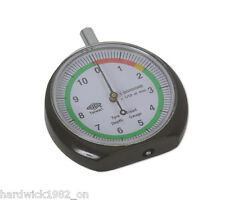 Clear Display Dial Tyre Tread Depth Gauge Tool - Solid Construction
