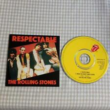 Rolling Stones CD  Single Card Sleeve Respectable / When the Whip Comes Down