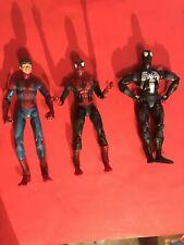 Spiderman Lot Custom Black Peter Parker 1st Appearance Sentinel Classics Figure