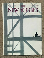 COVER ONLY ~ The New Yorker Magazine, April 11, 1983 ~ Abel Quezada