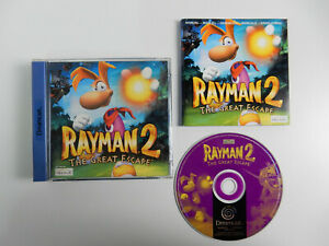 Rayman für Sega Dreamcast - PAL - CIB - Komplett !