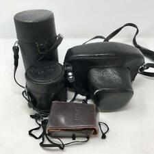Honeywell Pentax Spotmatic F 35mm SLR Camera & 2 Takumar lenses Made In Japan
