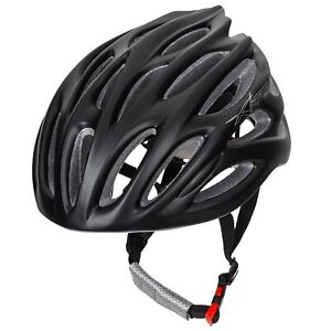 Ciclismo Casco Bicicleta Racing MTB Resistente Montaña Ajustable Carretera Negro
