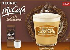 6 Keurig Kcup McCafe Caramel Macchiato Aribica Coffee Milk Brew 0520 Free Ship