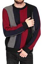 Gestreifte Herren-Pullover & -Strickware aus Wolle mit regular Länge