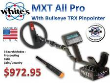 Whites MXT All Pro Metal Detector, w/ TRX Pin-Pointer, Ships FREE