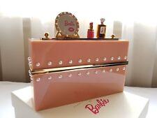 Nuevo Embrague Charlotte Olympia Barbie Mundo adornado Embrague