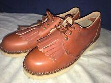 P. W. Minor Ortopédicas Marrón Encajes Tacón Plataforma Cómodo Zapato 8Aa