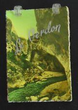 Carnet de 10 mini-photos du VERDON à couverture plastifiée