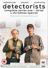 Detectorists: Series 1-3 DVD (2017) Mackenzie Crook ***NEW***
