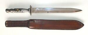 """ARGENTINE STILL BRAND FACON GAUCHO STYLE DAGGER 250MM 9"""" 7/8 KNIFE 1980s-1995"""